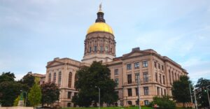 Government affairs takes place in the Georgia Capitol